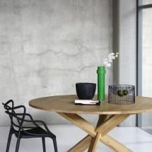 50164-oak-circle-dining-table