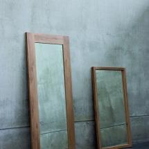 51253 Oak Mirror 51298 Oak Light frame mirror