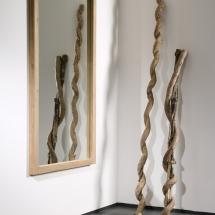 51298 Oak Light Frame mirror
