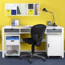 M&M teen - syo writing desk - wallunit sem - chests on drawers