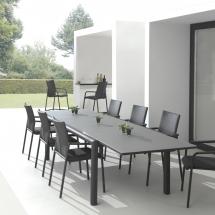 Solaria tafel + stoelen