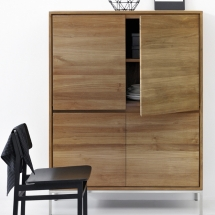 15311 Teak Essential storage cupboard (1)