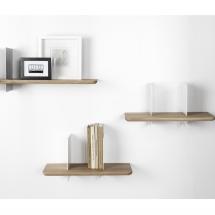 Clip wall shelves