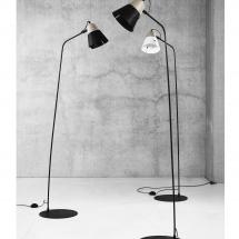 Cone floor lamps