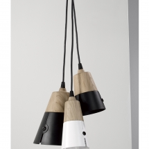 Cone hanging lamps