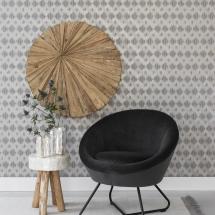 ML 750801 Cuddley Lounge chair dark grey-Beach-Stripes_sf1_DTP_1282510670520